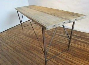 Antique Folding Wallpaper Table for Sale in Tampa, FL
