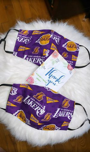 Lakers style masks for Sale in Los Angeles, CA