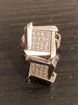 10k diamond earrings for Sale in Easley, SC
