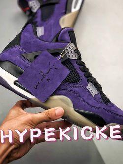 Jordan 4 Travis Scott Purple X1 for Sale in Chesapeake,  VA