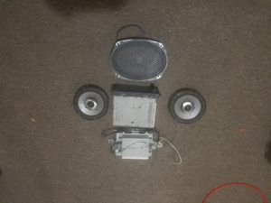 Touch screen stereo bundle for Sale in Detroit, MI