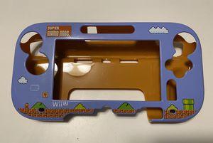 RARE Super Mario Bros Nintendo Wii U Snap-On Gamepad Cover Case Protector NO Stylus* for Sale in Carpentersville, IL