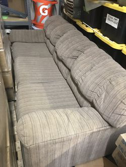 Brown/Tan striped sleeper sofa for Sale in Seven Hills,  OH