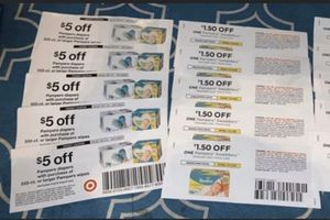 10 Target & manufacturer Pampers diapers & wipes coupons for Sale in Plantation, FL