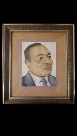 Original Hand Drawn Painting of Martin Luther King Jr for Sale in Detroit,  MI