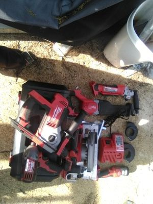 Milwaukee 8 piece 18v combo for Sale in Washington, DC