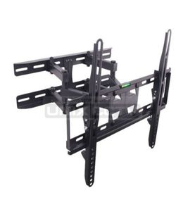 "Dual Arm LCD / LED TV Mount, 23 ~ 60in, Tilt & Rotate, Max 110 lbs, 70 ~ 370mm Extension, Black Fit for most 23"" ~ 60"" TVs • Max.VESA: 400 × 400 • Al for Sale in Downey,  CA"