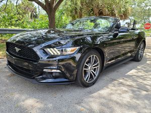 2016 Ford Mustang Convertible Ecoboots Premium for Sale in Pompano Beach, FL