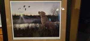 ANTHONY PADGETT DUCKS UNLIMITED DILIGENCE YELLOW LAB FRAME for Sale in Zephyrhills, FL