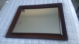 Large Mahogany Wall Mirror for Sale in Clayton, NC