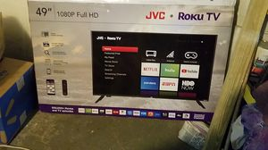49 inch JVC Roku TV 1080p fhd for Sale in Euclid, OH