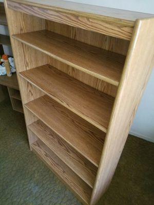 Solid Oak Bookshelve for Sale in Fresno, CA
