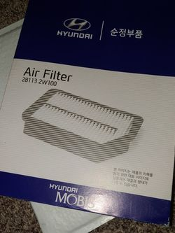 281132w100 Air Filter Hyundai Santa Fe 2013-2018 for Sale in Tacoma,  WA