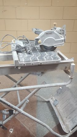 """Rigid tile cutter7 """" blade for Sale in San Diego,  CA"""