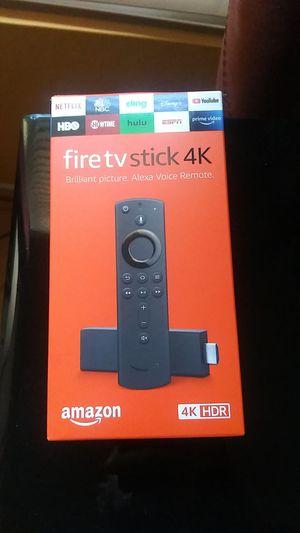 4k fire tv stick for Sale in Rialto, CA