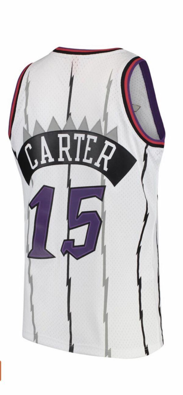 NBA Basketball Throwback Raptors Jersey