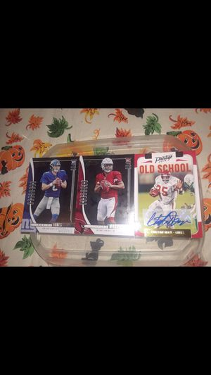 2000 Card Lot with Autos, rookies (Daniel Jones etc...) for Sale in Howell Township, NJ