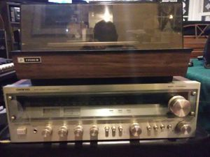 Vintage stereo system with high end speakers for Sale in Washington, DC