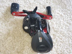 Abu Garcia Baitcasting Reel Fishing , 6.4:1 Gear Ratio Fast Reel best for Bass Fishing and Flipping. for Sale in Springfield, VA
