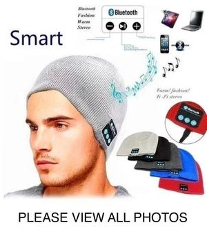 2019 WIRELESS BLUETOOTH BEANIE CAP WITH BUILT IN 5.0 DIGITAL HEADSET & HANDSFREE CALLING! BLACK OR GREY BRAND NEW! PRICE FIRM READ⬇️ for Sale in Las Vegas, NV