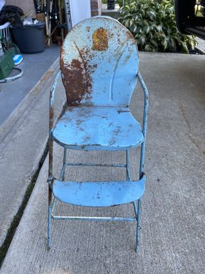 Old antique doll high chair for Sale in Painesville, OH