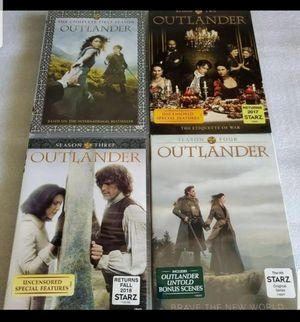 OUTLANDER SEASONS COMPLETE 1-4 for Sale in Silver Spring, MD