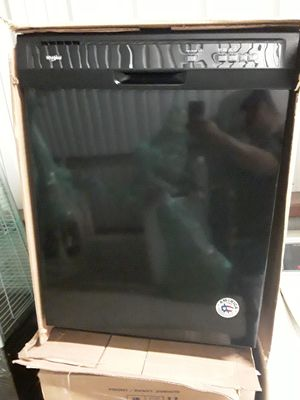 New Whirlpool black digital control panel dishwasher for Sale in Converse, TX