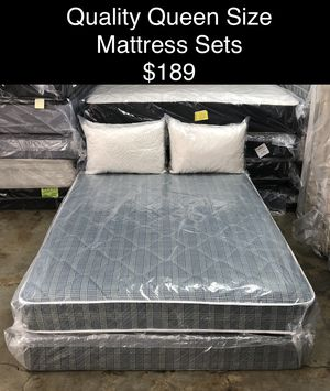 Quality Queen Size Mattress Sets (New) Financing & Same Day Delivery Available for Sale in Atlanta, GA