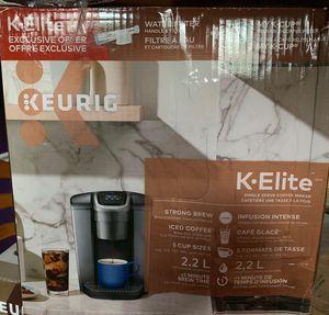 Keurig K-Elite for Sale in Decatur, GA