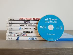 Wii Games, Carry-On Bag, Paddles and Archery Bow for Sale in Hollywood, FL