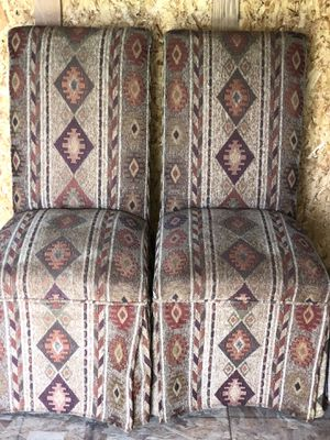 2 SOUTHWEST / INDIAN CHAIRS for Sale in Commerce City, CO