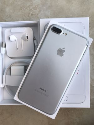 NEW Condition iPhone 7 Plus Factory Unlocked 128GB 32GB 256GB village dispatch nelson for Sale in Pompano Beach, FL