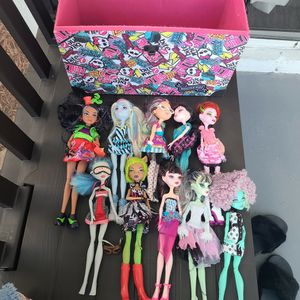Monster High Dolls And Others for Sale in Weston, FL