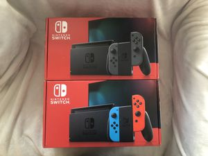 Nintendo switch gray and neon brand new 🔥🔥 for Sale in Lakeland, FL