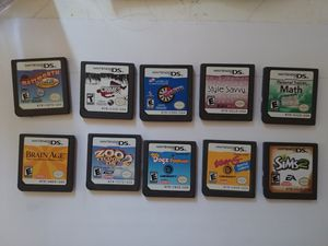 10 Nintendo DS games for Sale in Houston, TX