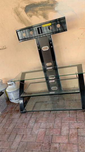 Glass Tv stand for Sale in Miami, FL