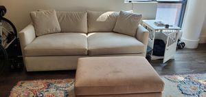 Pottery Barn square arm sofa for Sale in San Francisco, CA