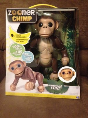 Zoomer Chimp Never Used Comes with Orignal Box for Sale in Nashville, TN