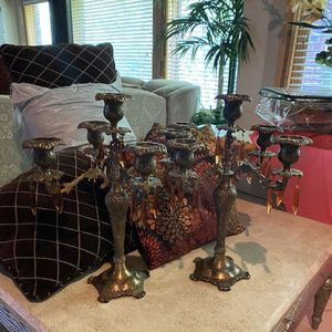 Beautiful candelabras for Sale in West Bloomfield Township, MI