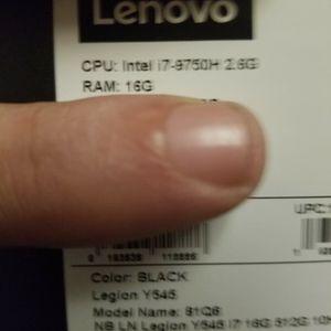 Rtx2060 144hz Lenovo Y545 Gaming laptop. for Sale in Rocklin, CA