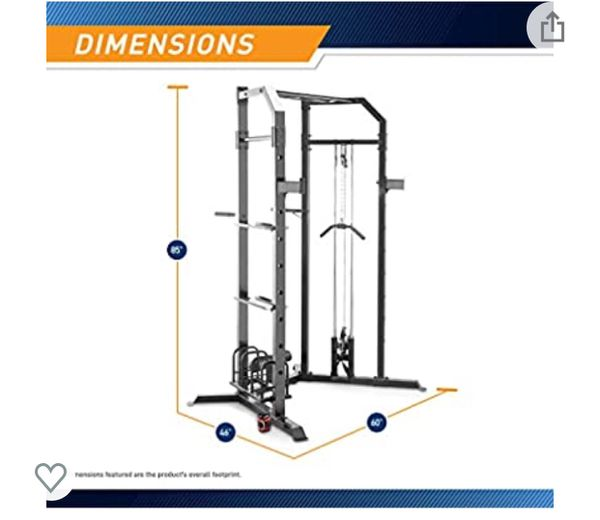 Marcy Smith Cage Workout MachinBody Training Home Gym System with Linear Bearing (no weight come with it )it's wholsale firm price no offer 🔥