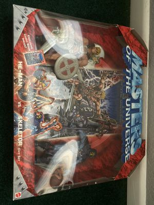 Masters of the Universe He-Man vs Skeletor Gift Set by Mattel for Sale in Chino, CA