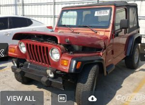 paring out 1999 jeep wrangler tj parts for Sale in Las Vegas, NV