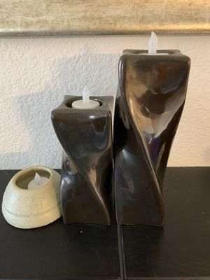 Candle holder with lots of LED candle for Sale in Thornton, CO