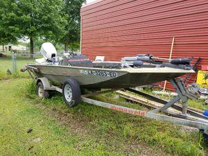 17 foot alumnaweld boat for Sale in Rowlett, TX