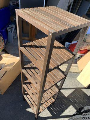 5 level wood shelf for Sale in Camas, WA