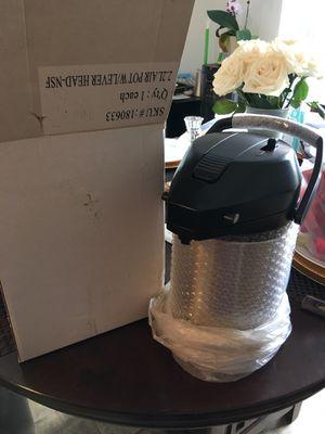 2.2L Air Pot w/ Lever Head/ To keep the coffee hot for Sale in La Mesa, CA