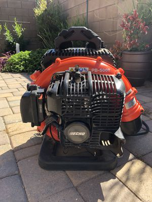 Echo Leaf Blower PB 500T less than 10 hours use for Sale in Chandler, AZ