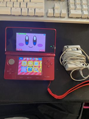 Nintendo 3DS Flame Red for Sale in Anaheim, CA