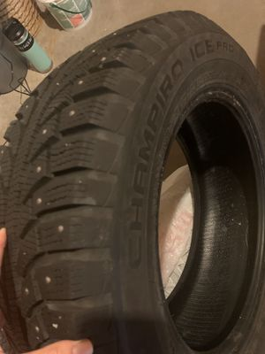 Set of 4 brand new studded tires with transferable lifetime warranty for Sale in Arvada, CO